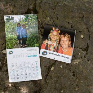 Calendario 'Sonrisas del Himalaya'