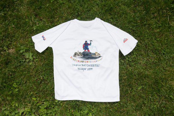 """Camiseta """"I Marcha Iñaki Ochoa de Olza"""" frente"""