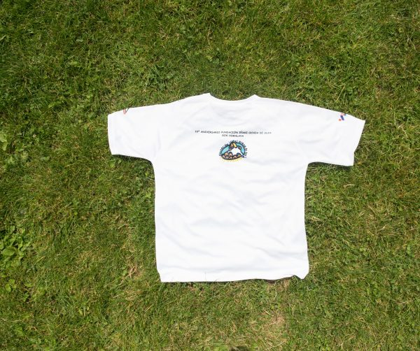 """Camiseta """"I Marcha Iñaki Ochoa de Olza"""" trasera"""