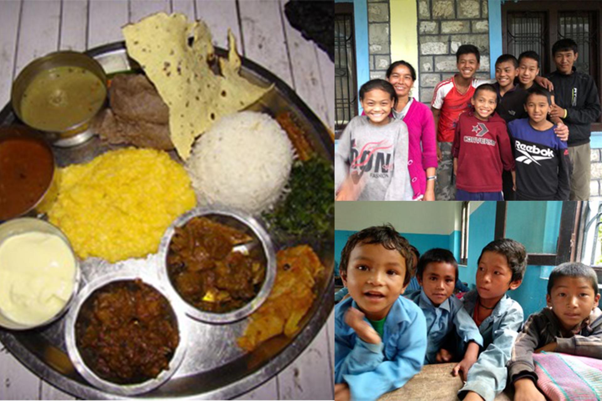 Comedor solidario y escuela saludable de Seduwa