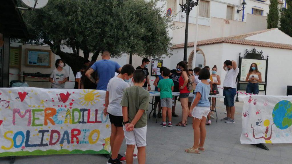Mercadillo solidario Carcabuey
