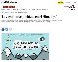 'Las aventuras de Iñaki en Himalaya' en Eldiario.es
