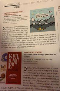 'Las aventuras de Iñaki en Himalaya' en Revista Desnivel