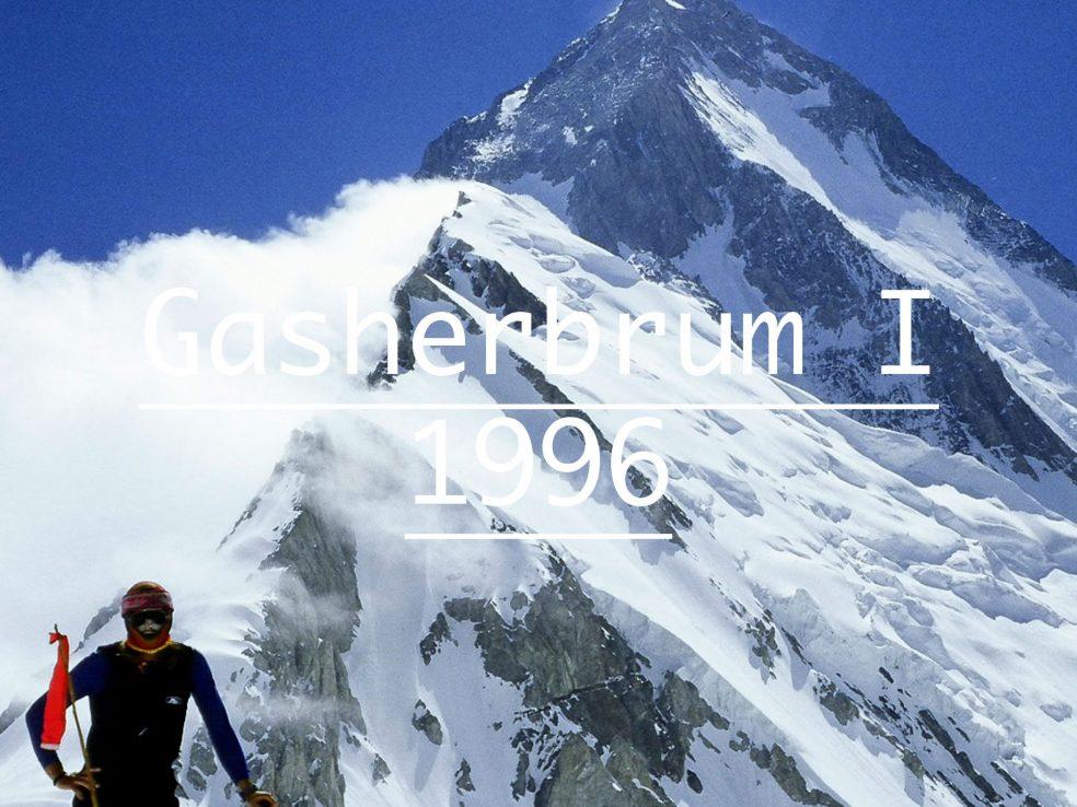 Gasherbrum I Iñaki Ochoa de Olza