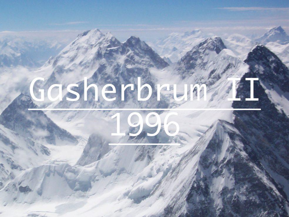 Gasherbrum II Iñaki Ochoa de Olza